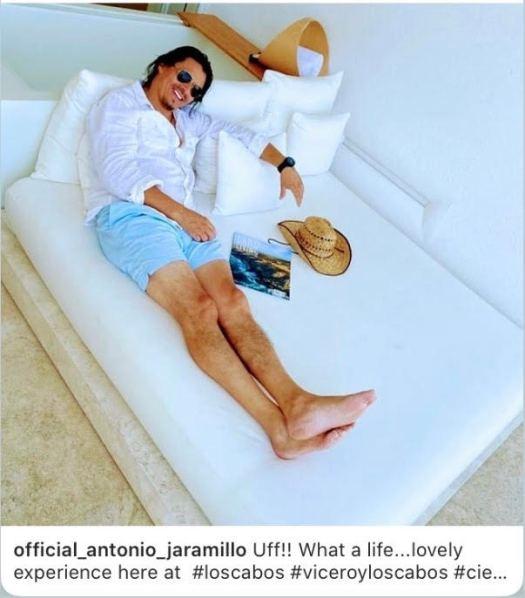 Antonio Jaramillo at Viceroy