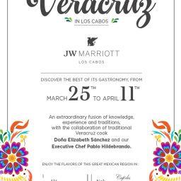 JW Marriott Los Cabos Celebrates Colors and Flavors of Veracruz through April 11